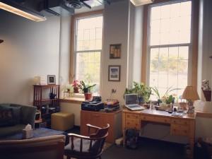 New office windows.